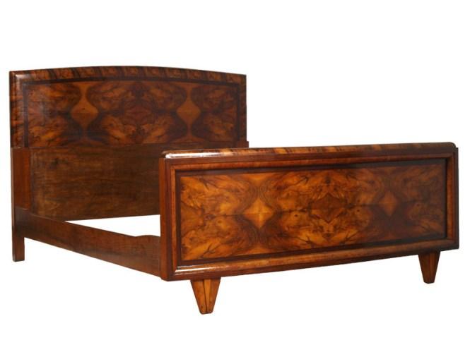 Antique Art Deco Furniture Set Bedroom 1930 Mad05
