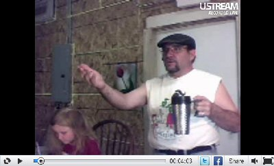 Screen Capture from Ustream Show