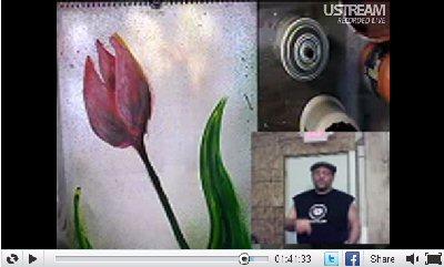 Ustream Screen Capture