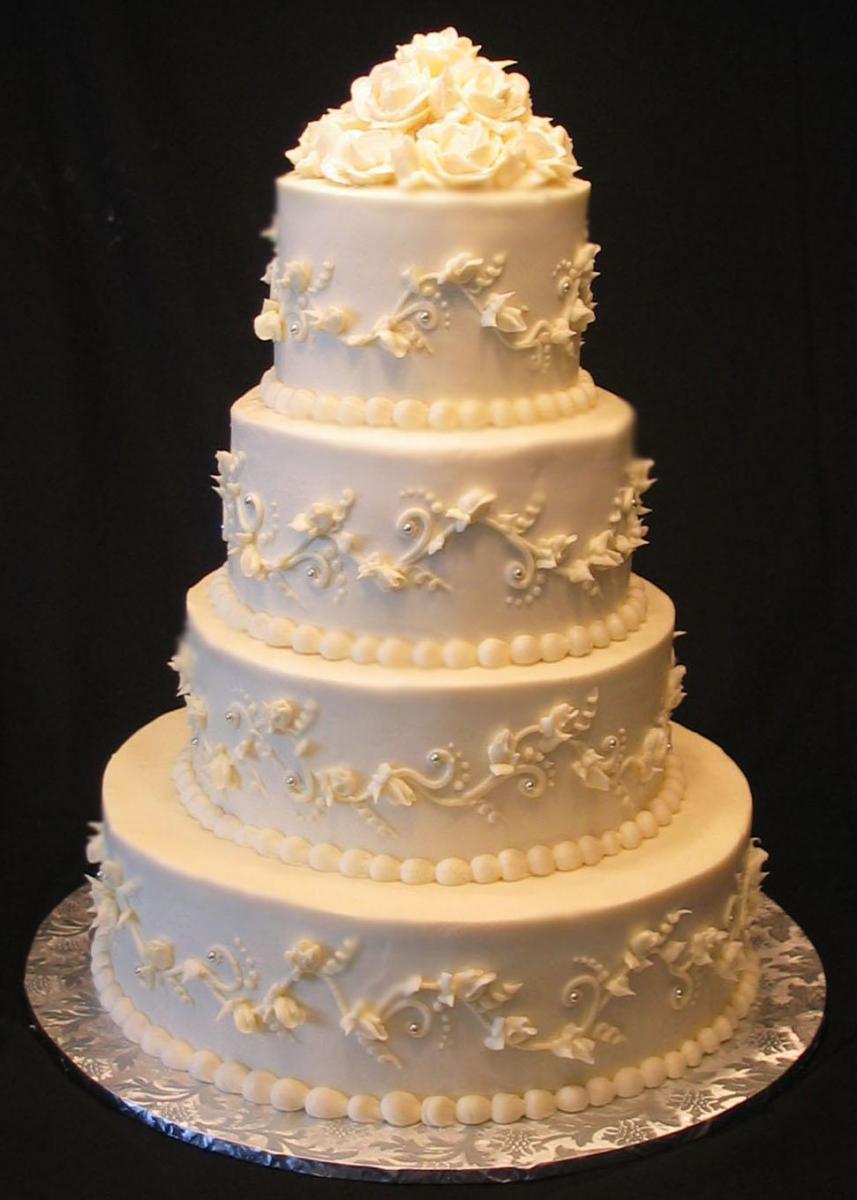 Gold Wedding Cakes Artistic Desserts