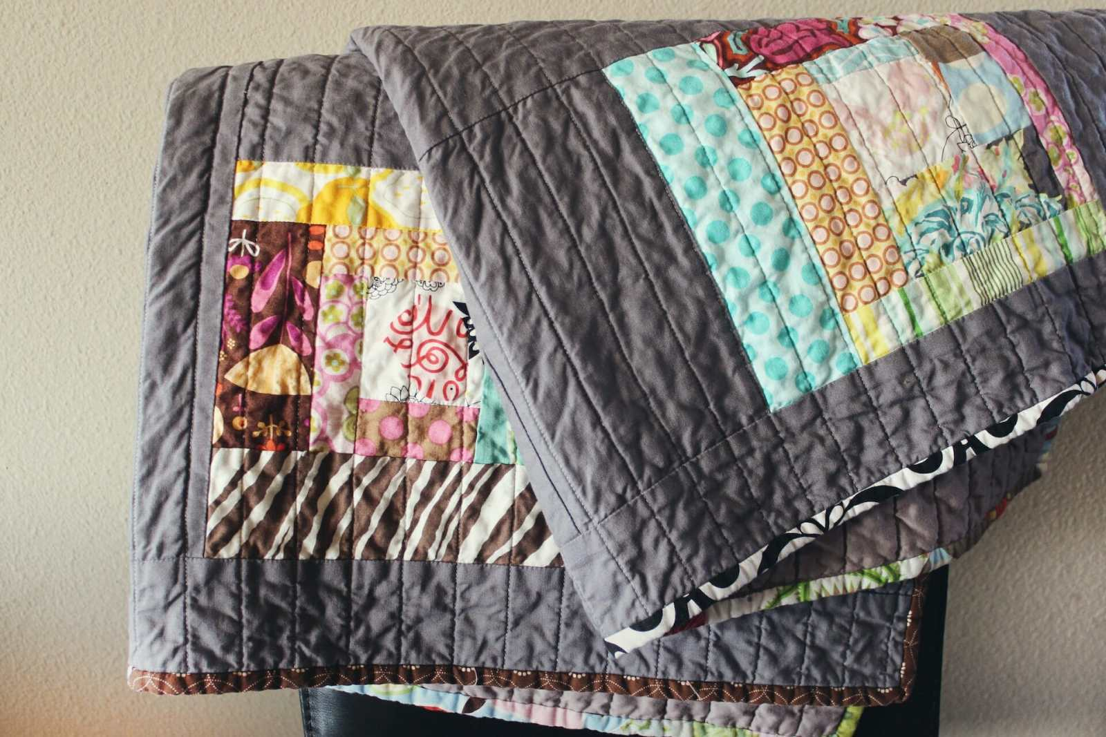 Quilting in action