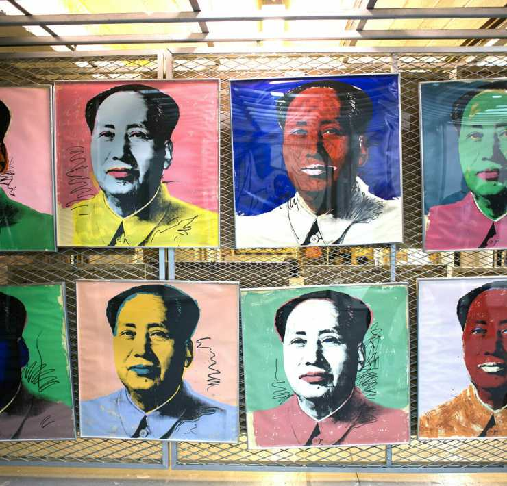 Warhol's Moab featuring Chinese Communist leader Mao Zedong
