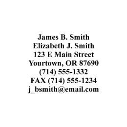 address stampers artistic direct