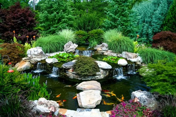 water features - artistic landscapes