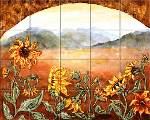 Tile Murals  Kitchen Backsplash Tile Art