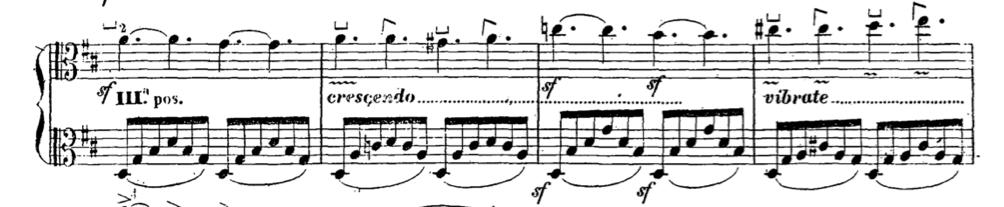 Giorgetti Ferdinando, Metodo per esercitarsi a ben suonare l'Alto-Viola, Milano, Tito di G. Ricordi, 1854. p. 17
