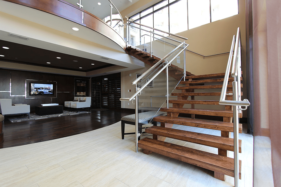 Commercial Staircase Design Artistic Stairs Canada