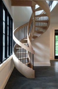 Curved Stairs Design & Construction | Artistic Stairs