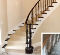 Staircase Renovation | Artistic Stairs Canada