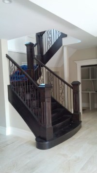 Flared Staircase | Custom Staircase | Artistic Stairs