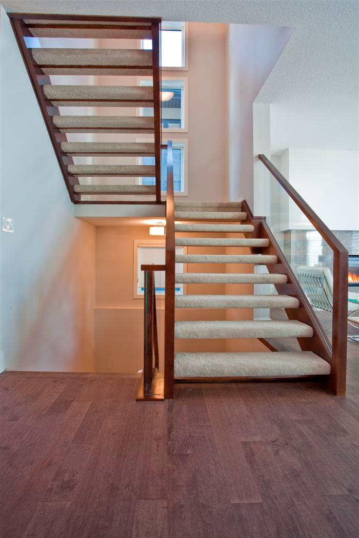 Open Riser Stairs Open Staircase Artistic Stairs   Open Tread Staircase Designs