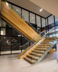 Commercial Staircase Project | Artistic Stairs Canada
