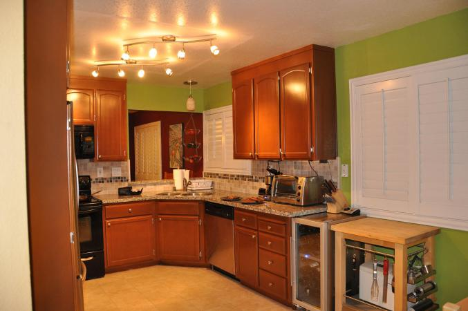 prefab kitchen cabinets ninja mega golden butterfly with mosaictile backsplash ...
