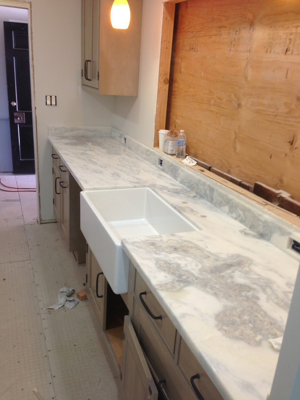 prefab granite kitchen countertops black sink namib sky quartzite counter tops - artistic stone ...