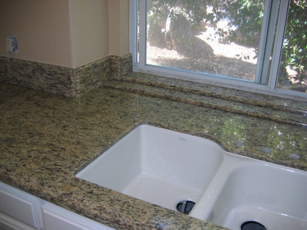Window Sills in Granite  Countertop replacement projects  Artistic Stone Kitchen and