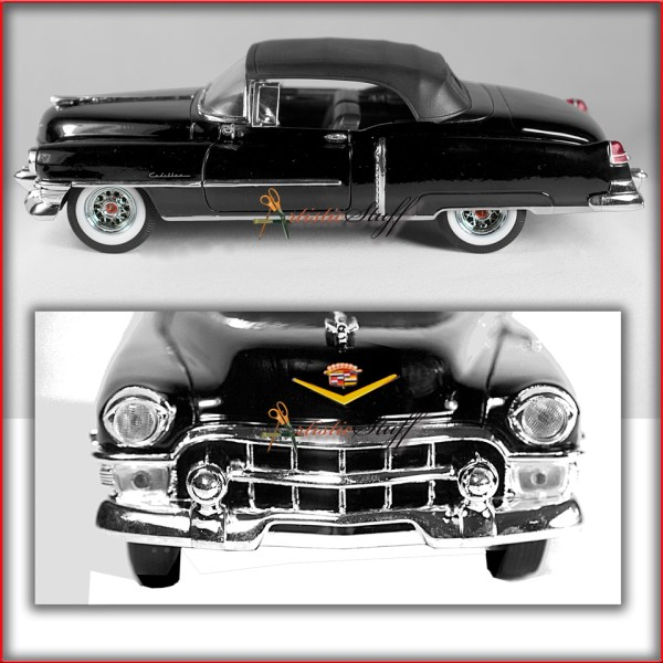 Welly 1953 Cadillac Eldorado Hard Top Black 1 24 Scale