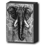 Elepant-art-canvas-print-mini