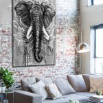 elephant-art-canvas-print-room