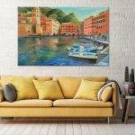 italian-coastal-village-art-print-wall-decor-ideas