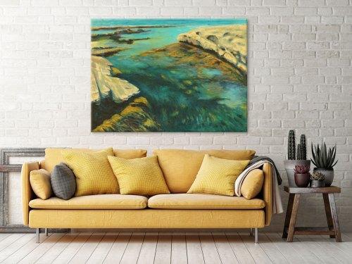ocean-art-print-wall-decor-ideas