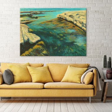 ocean-art-print-wall-decor-ideas
