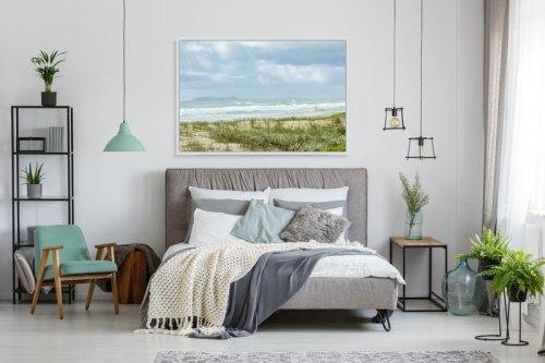 Beach-wall-art-bedroom-framed