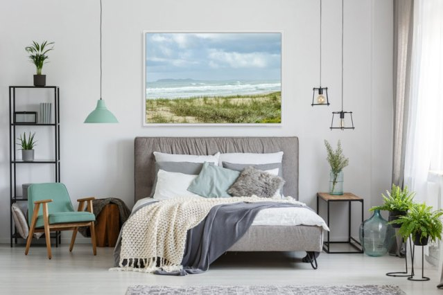 Beach-wall-art-bedroom-framed