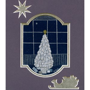Christmas Eve 5″x 7″