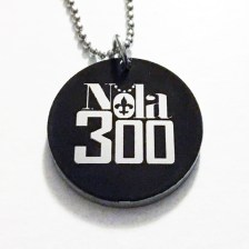 ss Nola 300 black pendant