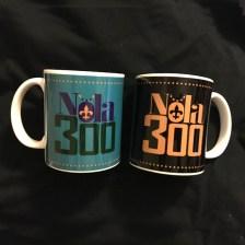 ss Nola 300 two sided mugs