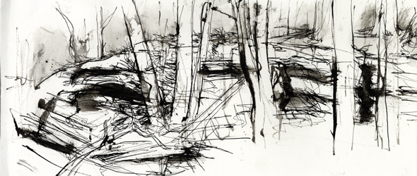 Life in Landscape Drawings