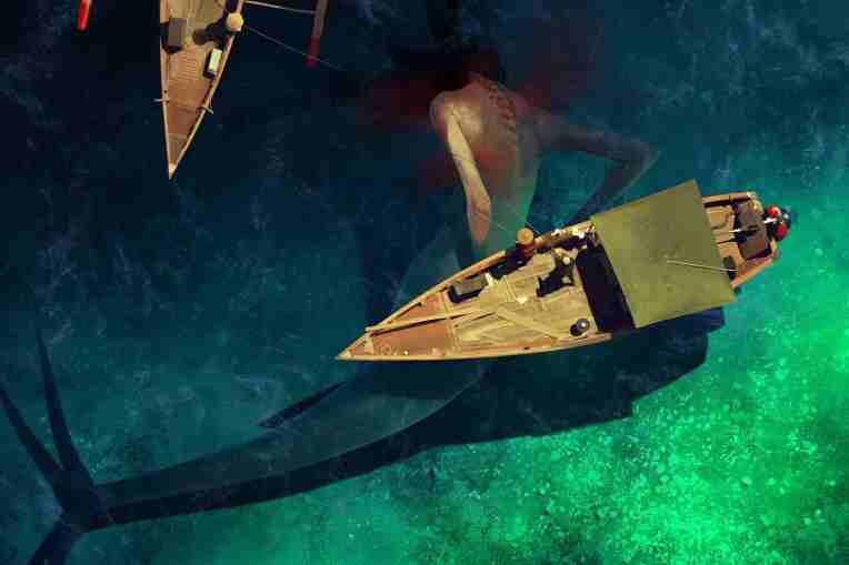 Sergey Kolesov artist art mermaid concept art digital painting
