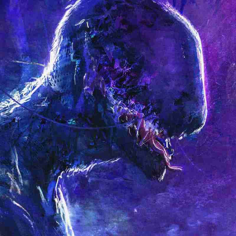 Daniel Percy Concept artist sci-fi horror monster creature concept