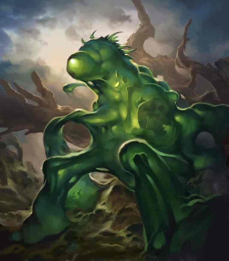 Ryan Bittner ryanhappytree ooze monster creature concept art