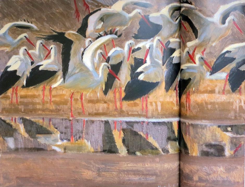 Robert Greenhalf - White Storks