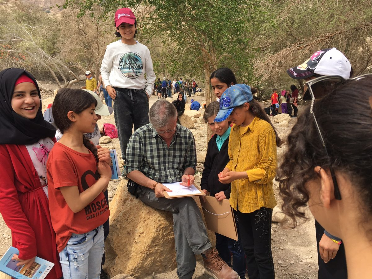 Get-together in Wadi David