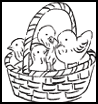 Easter Coloring Pages and Printouts for Kids: Free Easter