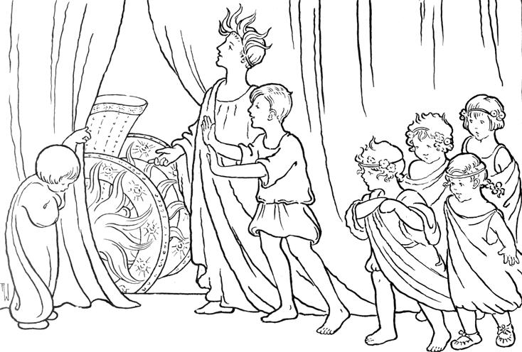 Apollo Shows Phaeton the Sun Chariot