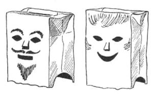Paper Bag Crafts for Kids : Ideas for Arts & Crafts