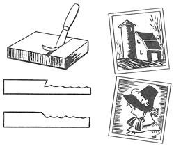 Linoleum Crafts for Kids : Arts and Crafts with Linoleum
