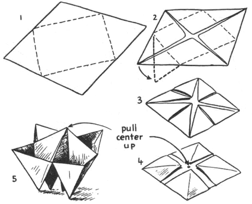 Origami Boxes : How to Fold Origami Paper Boxes : Paper
