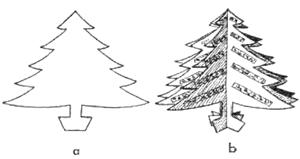 Christmas Tree Crafts for Kids : How to Make Christmas
