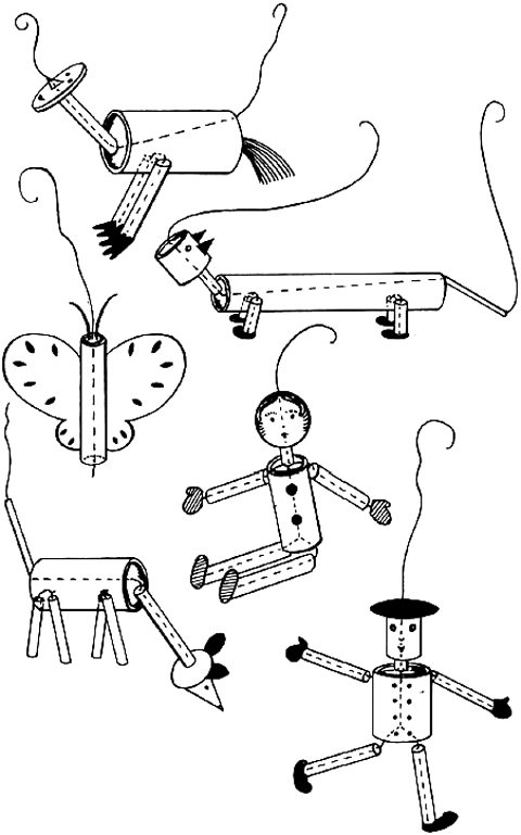 String Controlled Puppets and Marionettes Crafts : How to