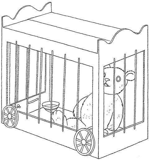 How to Make Circus or Zoo Animal Cages for Kids