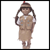 """Native   AmericanDoll Costume <span class=""""western"""" style="""" line-height: 100%""""> : American Indians Arts and Crafts Projects for Children</span>"""