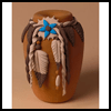 """Native   Pottery Replicas <span class=""""western"""" style="""" line-height: 100%""""> : Thanksgiving Indians Crafts</span>"""