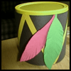 """Native   American Drums for Kids <span class=""""western"""" style="""" line-height: 100%""""> : American Indians Arts and Crafts Projects for Children</span>"""