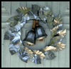 Silver   Bells Wreath  : How to Make Stuff with Soda Cans