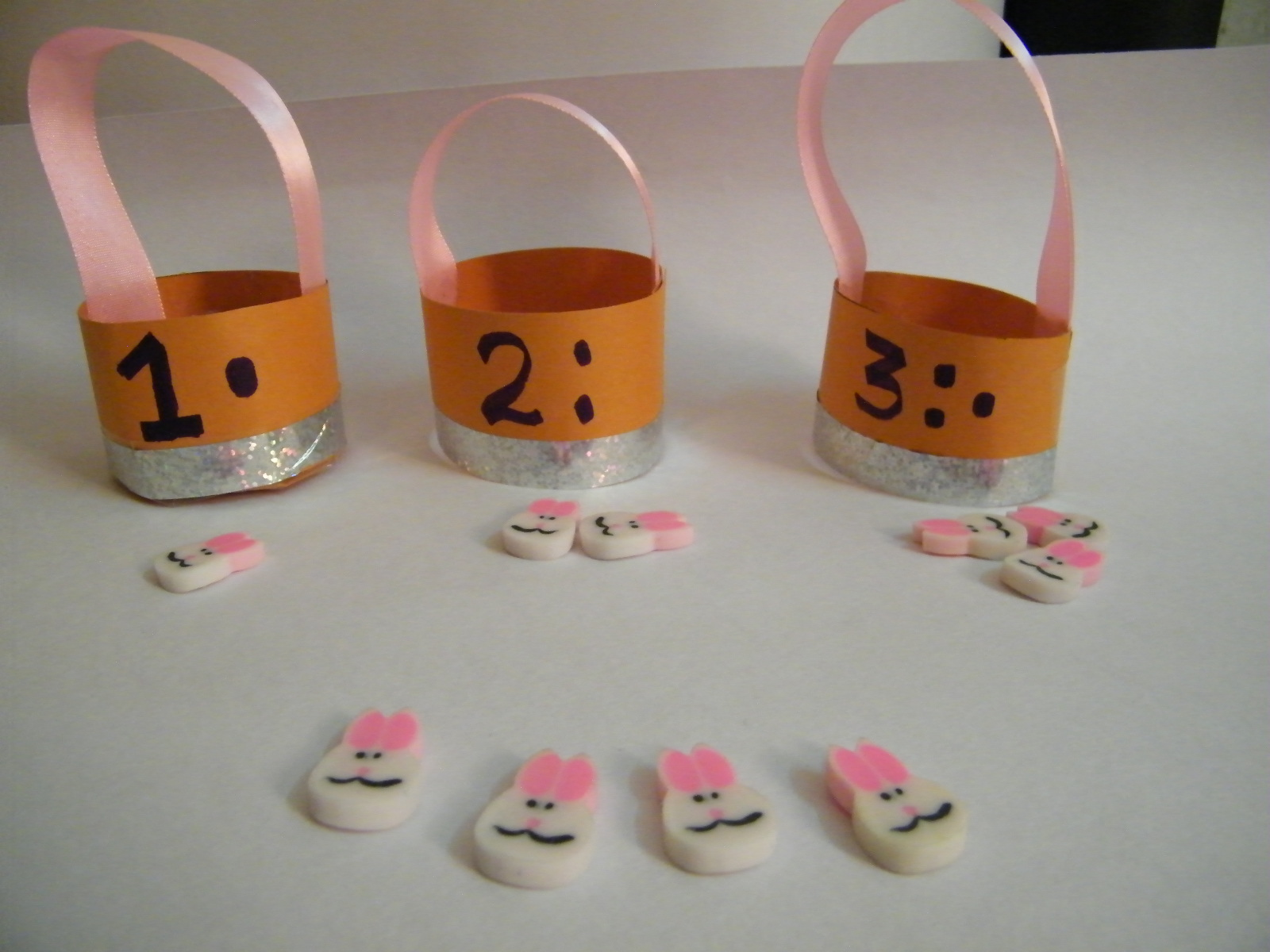 Make Easter Counting Game Craft Activities For