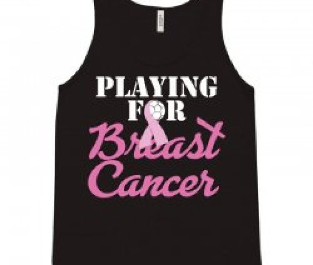 Playing For Breast Cancer Tank Top